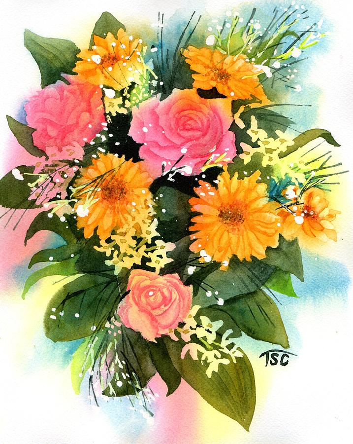 Get Well Soon Painting by Tammy Crawford