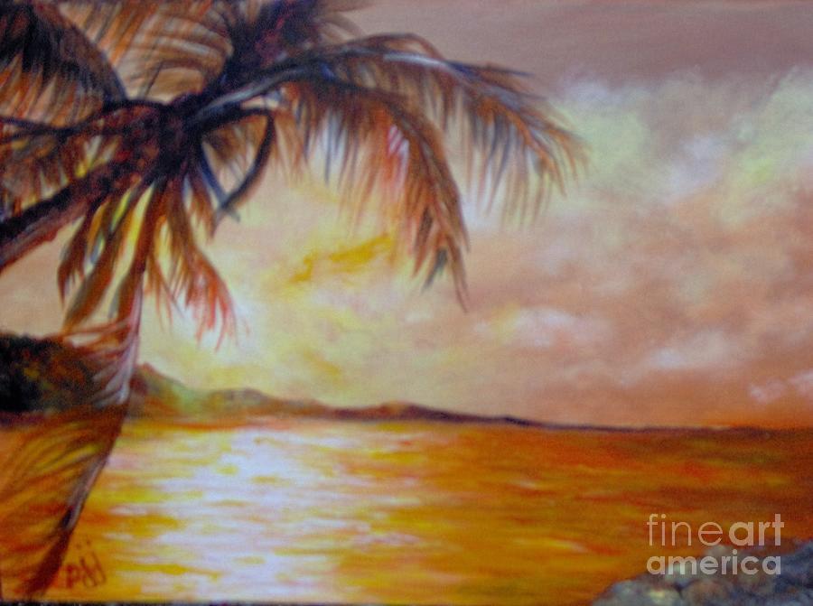 Caribbean Painting - Getaway by Saundra Johnson