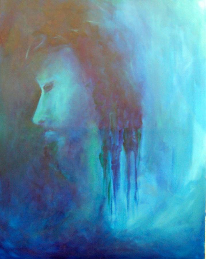 Abstract Painting - Gethsemane by DeLa Hayes Coward