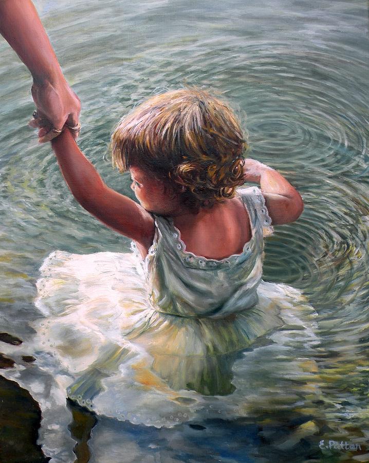 Getting Her Feet Wet by Eileen Patten Oliver