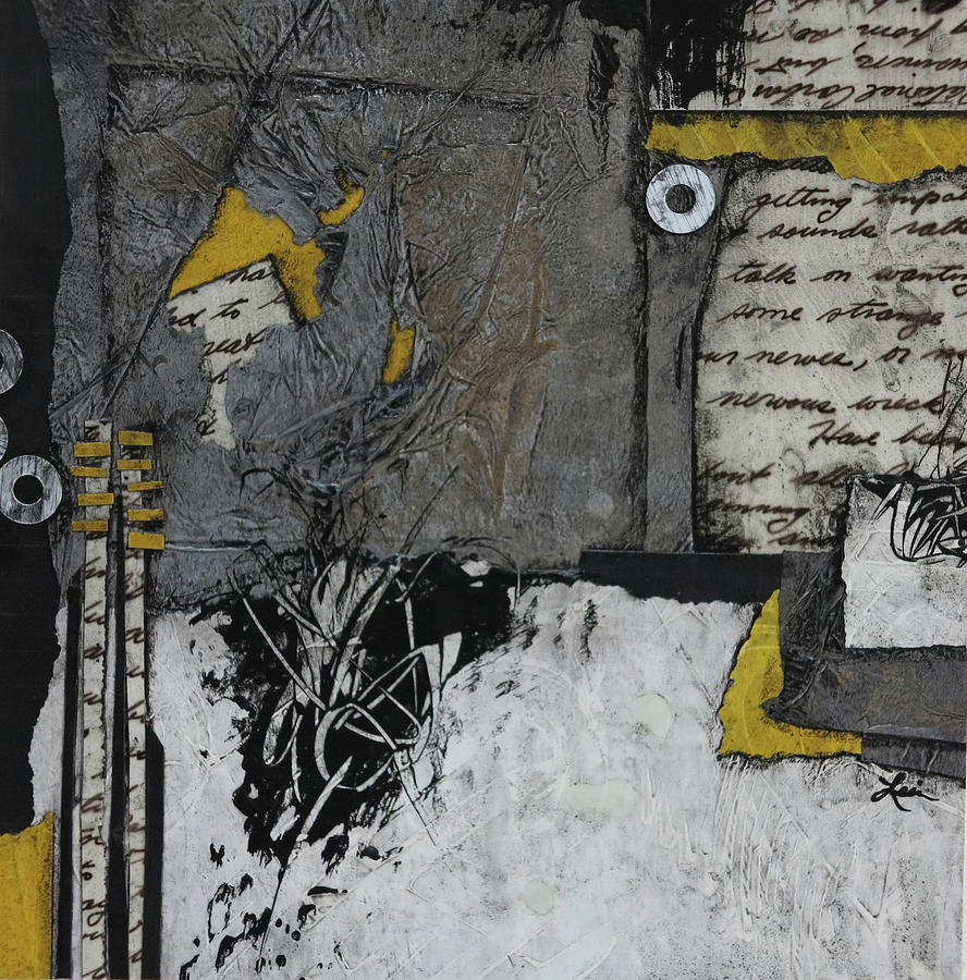 Collage Mixed Media - Getting Sounds  by Laura Lein-Svencner