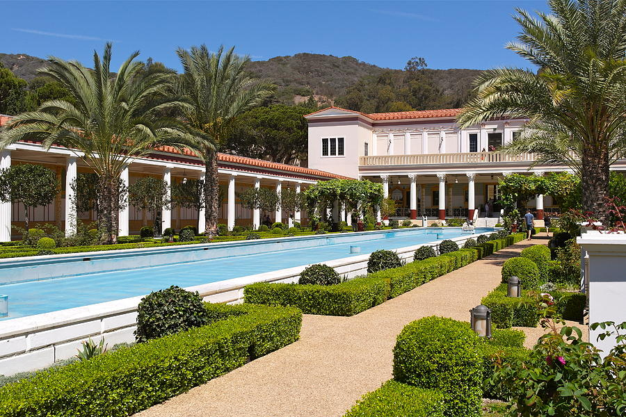 Getty Villa Outer Peristyle Museum View by Michele Myers