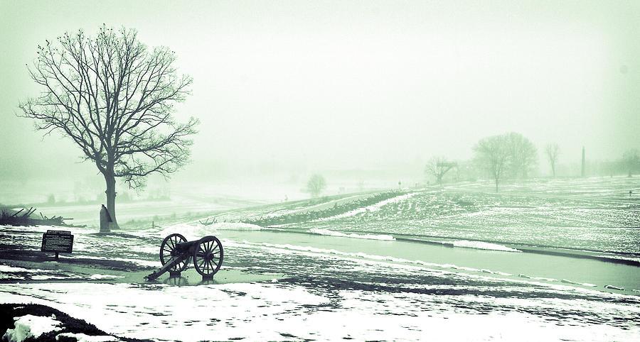 Gettysburg Battlefield Photograph by Sam Turgeon