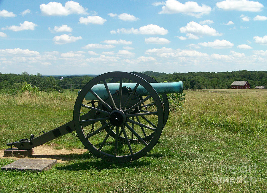 Cannon Photograph - Gettysburg Cannon by Kevin Croitz