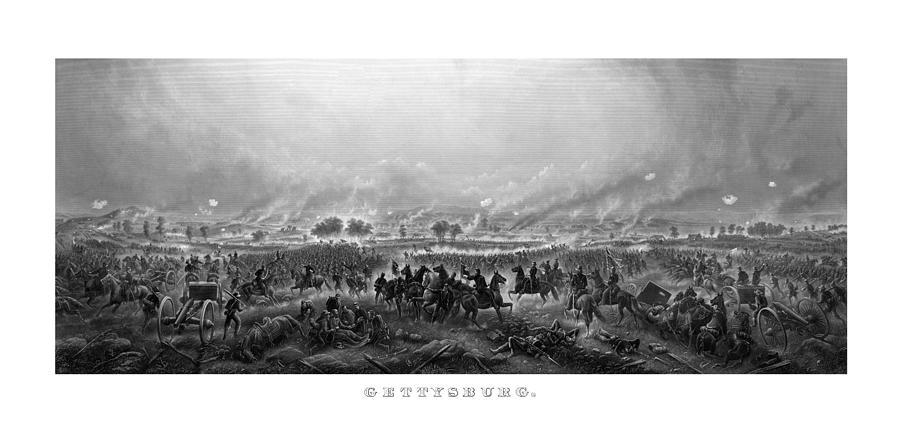 Gettysburg Painting - Gettysburg by War Is Hell Store