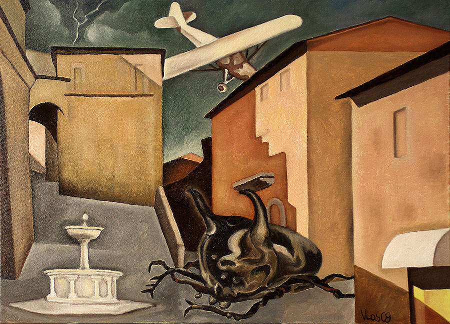 Gewitterhorn Painting by Vittorio Losito