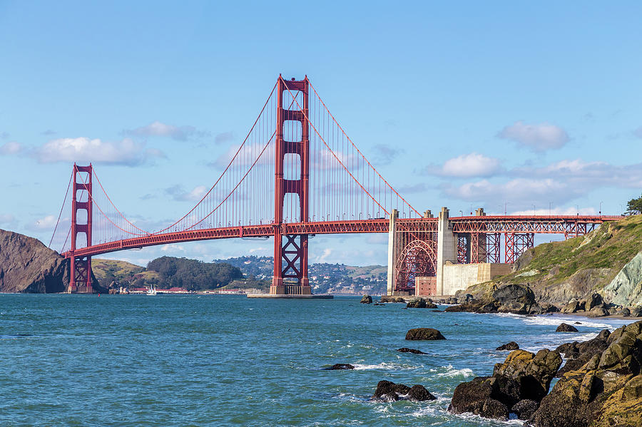 Bridge Photograph - GGB by Digiblocks Photography
