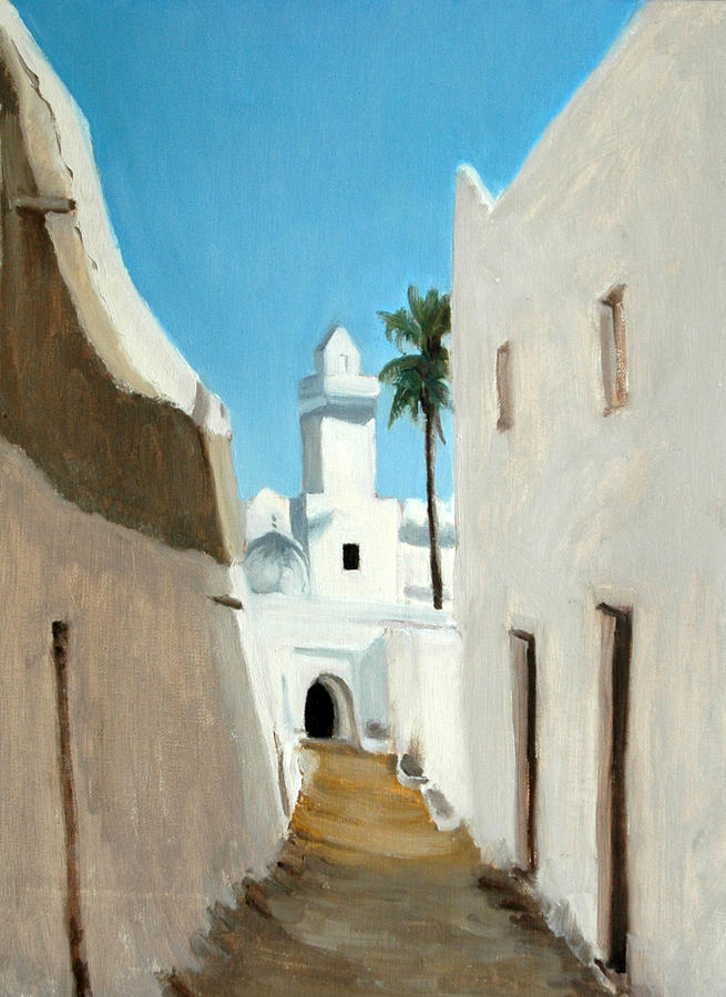 Ghadames Painting - Ghadames by Gordon Bell