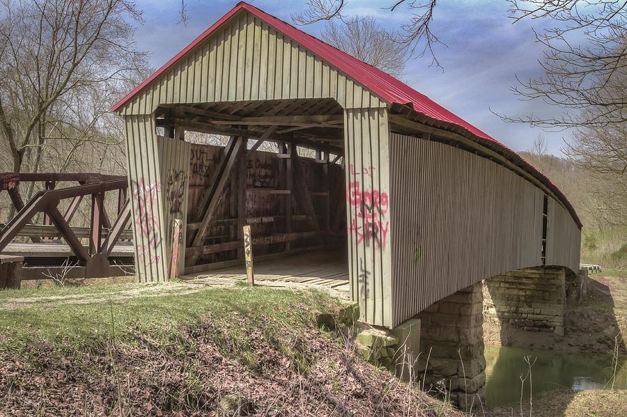 Gheers Mill/humpback/ponn Covered Bridge Photograph
