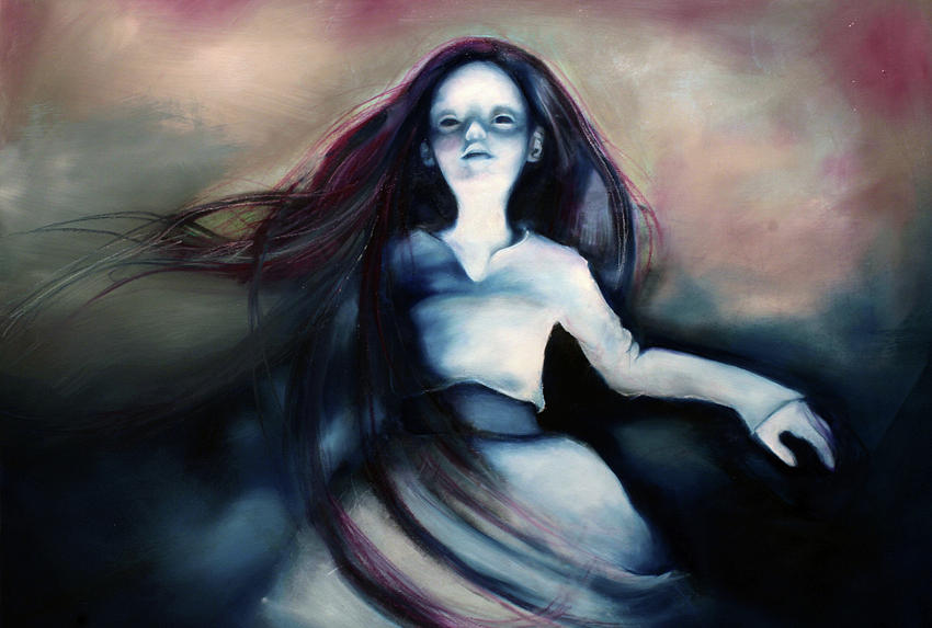 Doll Painting - Ghost by Barbara Agreste