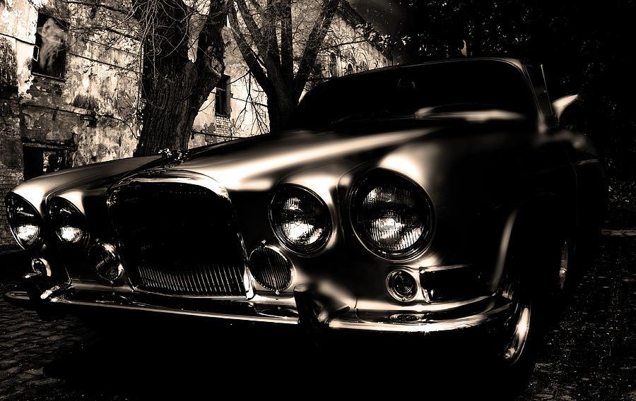 Car Photograph - Ghost Car by Alex Loban