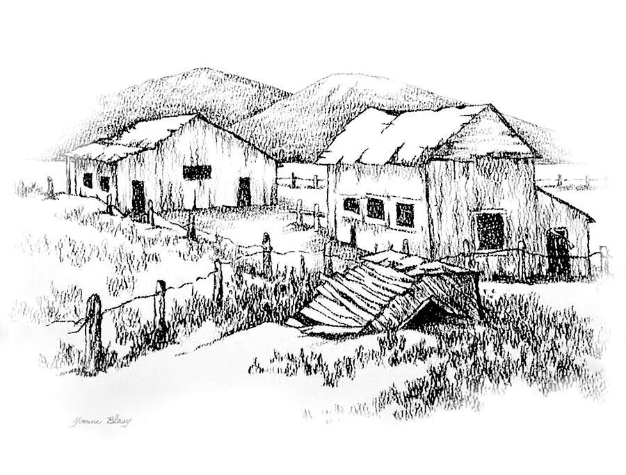 Ghost Farm  by Yvonne Blasy