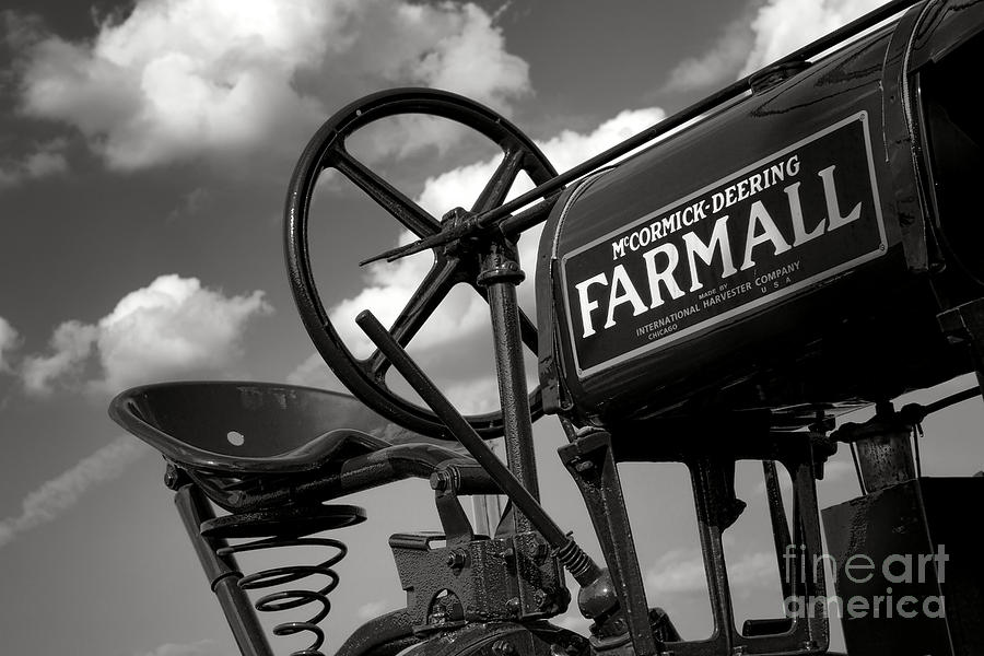 Mccormick Photograph - Ghost Of Farmall Past by Olivier Le Queinec