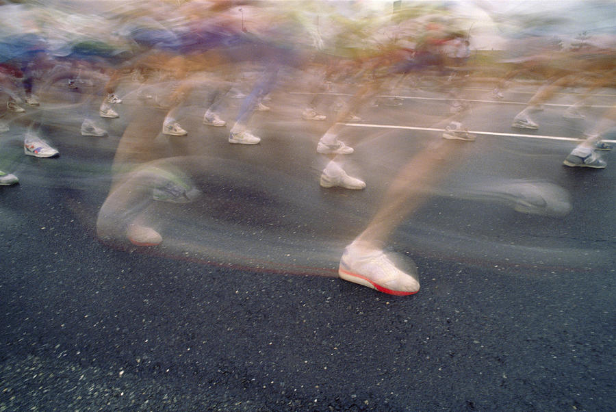 Ghost Race Photograph by Gerard Fritz