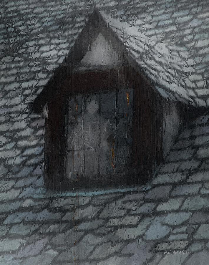Ghost Painting - Ghost Rain by RC deWinter