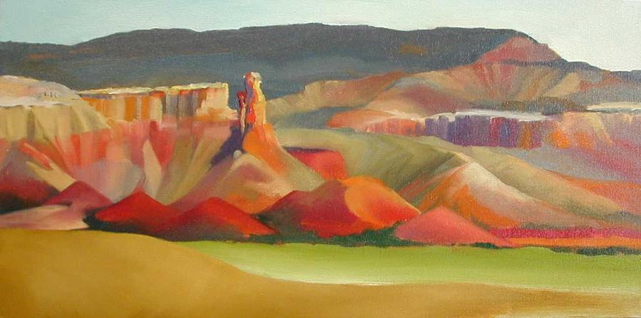 Landscape Painting - Ghost Ranch by R Raya