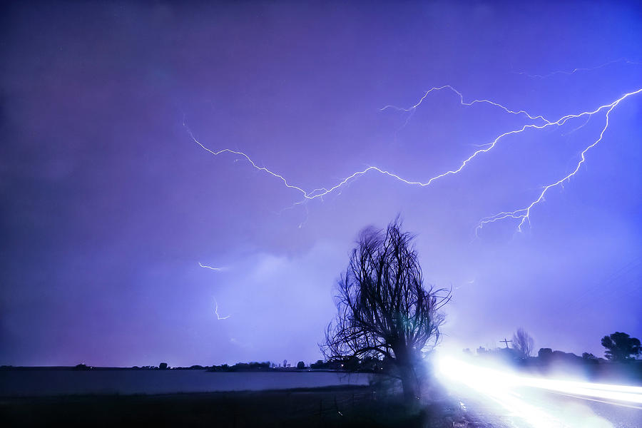 Storms Photograph - Ghost Rider by James BO Insogna