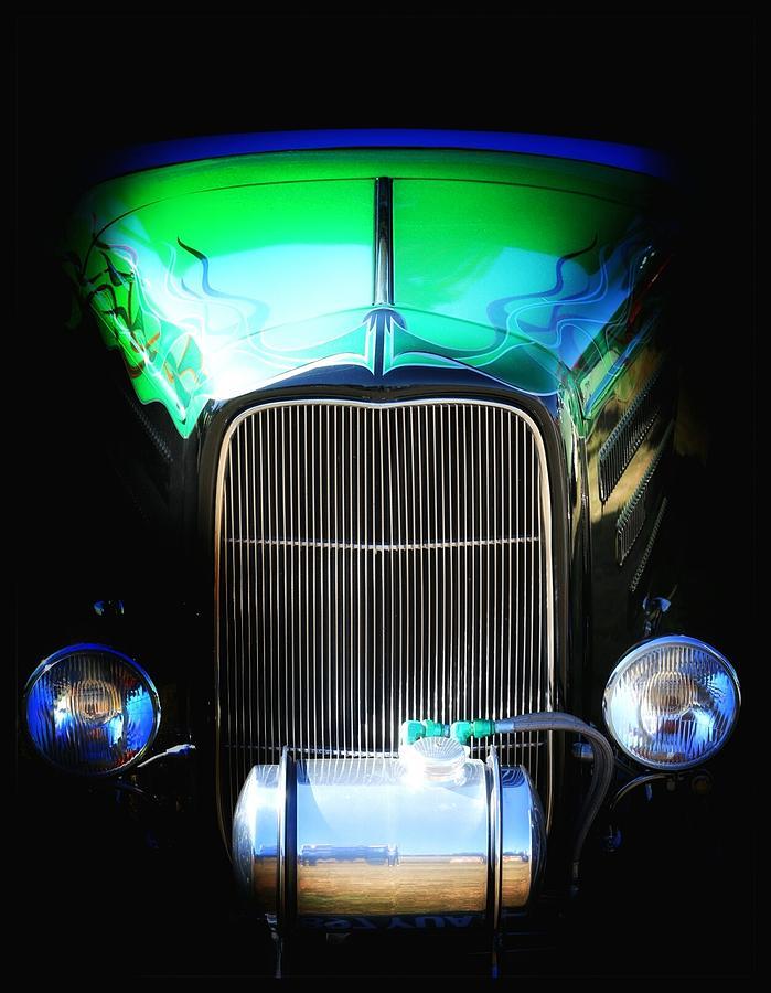 Car Photograph - Ghost Rod by Stuart Ellesmere