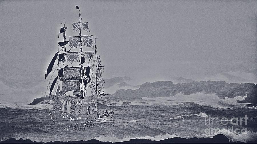 Ghost Ship Photograph - Ghost Ship by Blair Stuart
