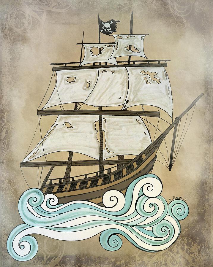 Ghost Ship by Shawna Rowe