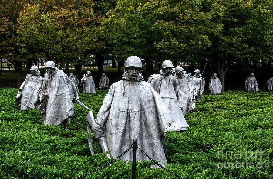 Washington Dc Photograph - Ghost Soldiers by Davids Digits