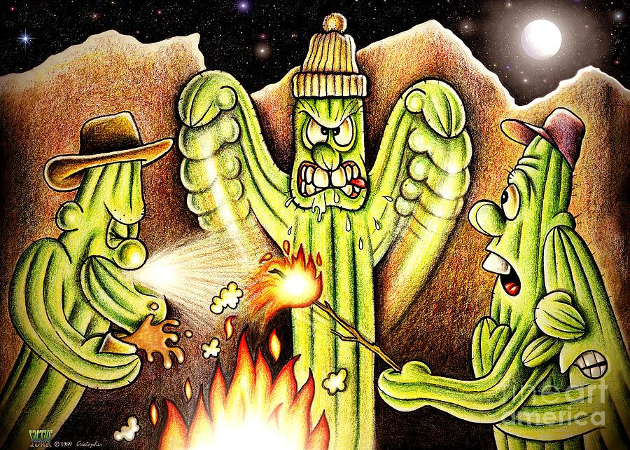 Cartoons Digital Art - Ghost Story by Cristophers Dream Artistry
