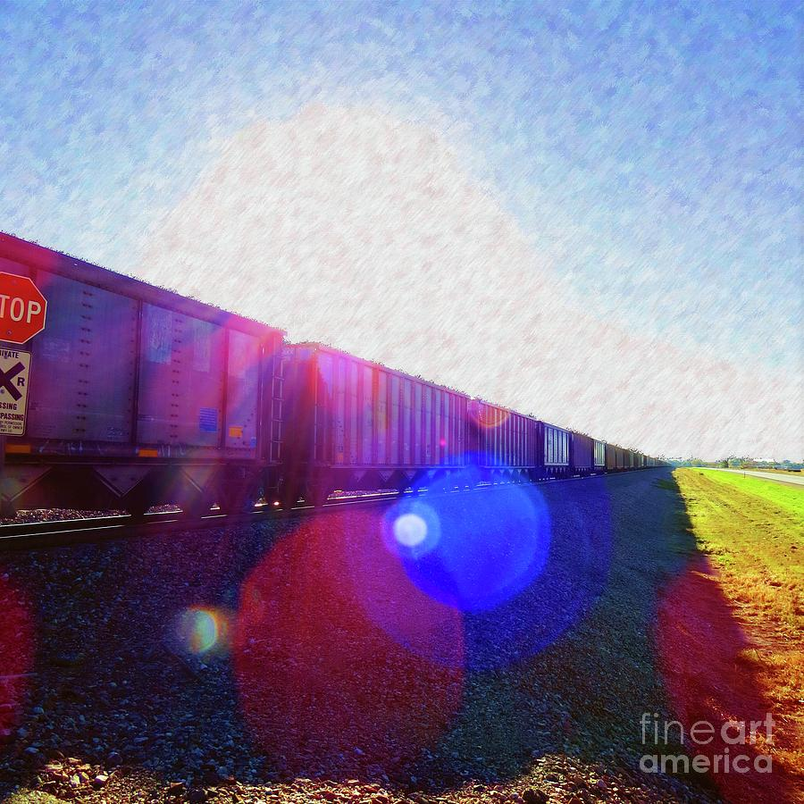 Ghost Train To Glory by Desiree Paquette