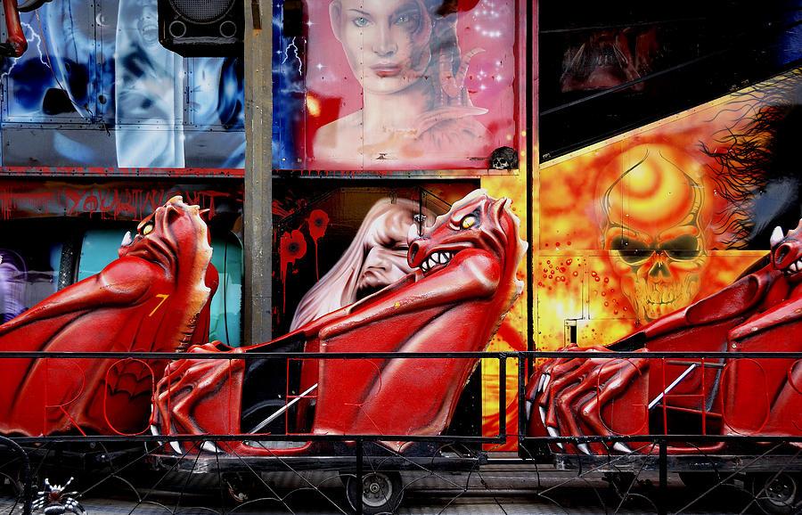 Ghost Train Photograph - Ghost Train by Wayne Sherriff