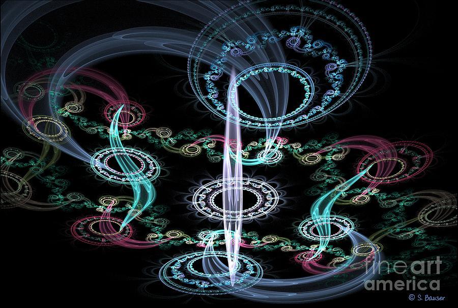 Digital Digital Art - Ghosts In The Machine by Sandra Bauser Digital Art