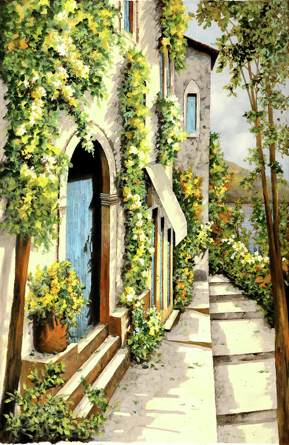 Lemon Painting - Giallo Limone by Guido Borelli
