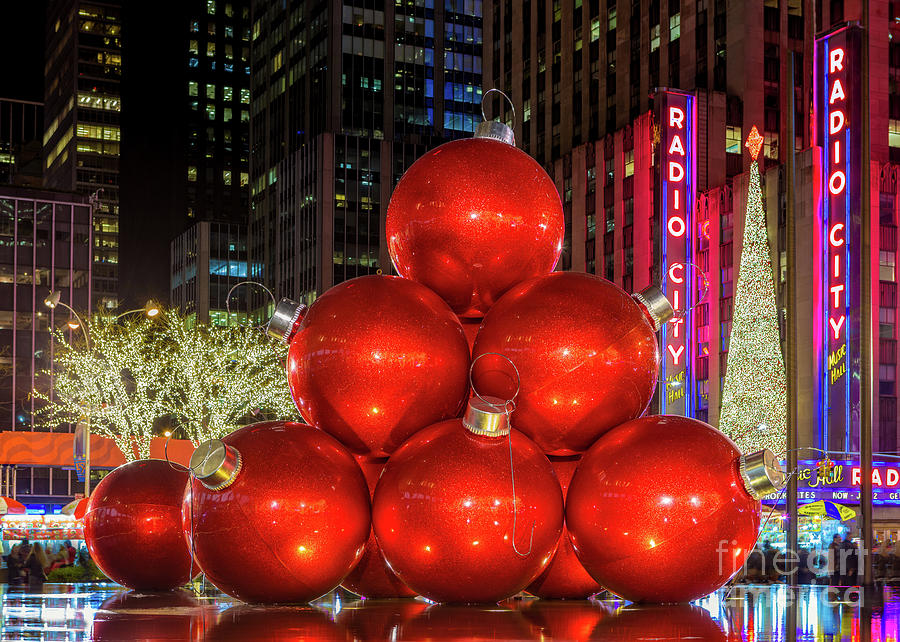 Giant Christmas Ornaments By Jerry Fornarotto