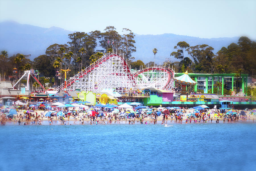 California Photograph - Life Is Like A Rollercoaster by Marnie Patchett
