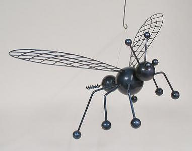 Wasp Sculpture - Giant Wasp by Bruce Gray