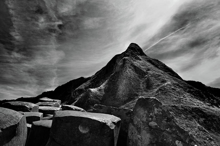 Giant's Causeway Photograph - Giants Causeway 4 by Terence Davis