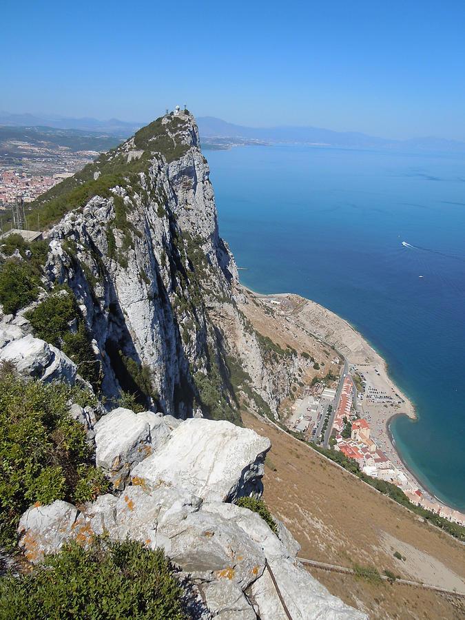 Europe Photograph - Gibraltar by Heather Coen
