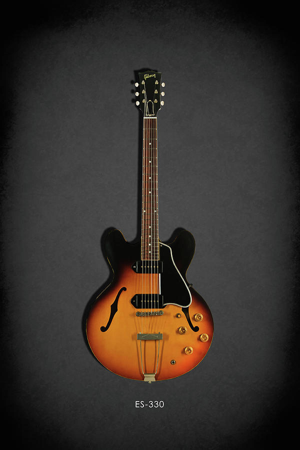 Gibson ES-330 Photograph by Mark Rogan