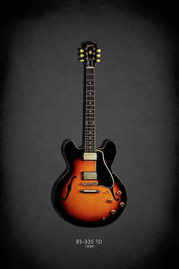 Gibson Es335 Photograph - Gibson Es 335 1959 by Mark Rogan