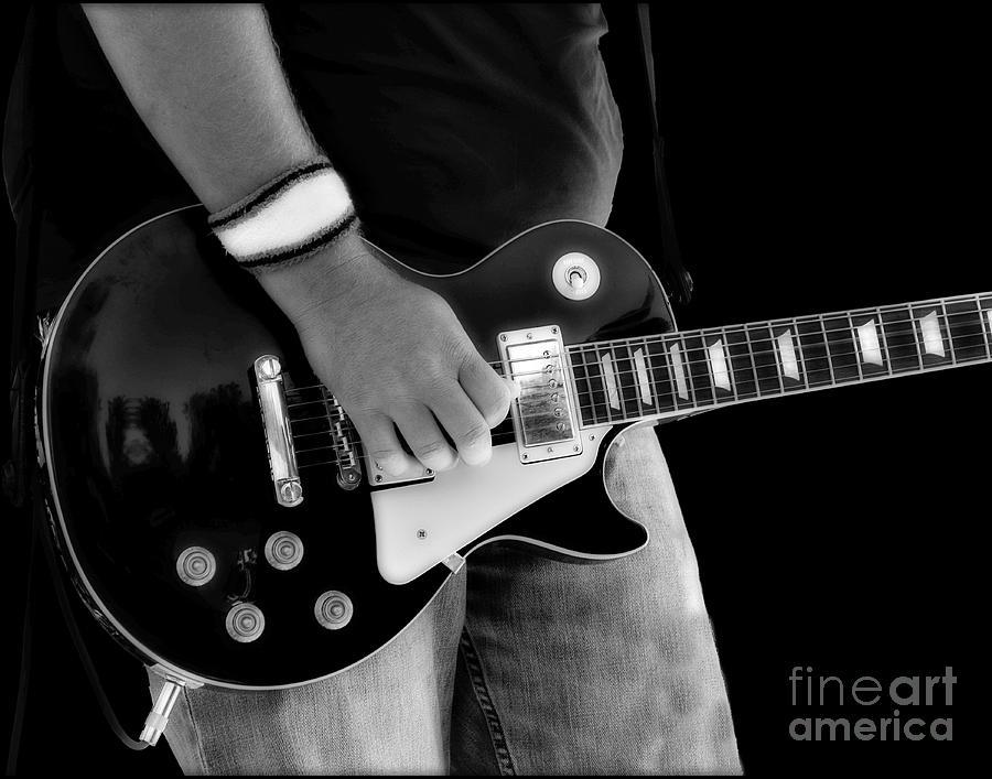 Gibson Photograph - Gibson Les Paul Guitar  by Randy Steele