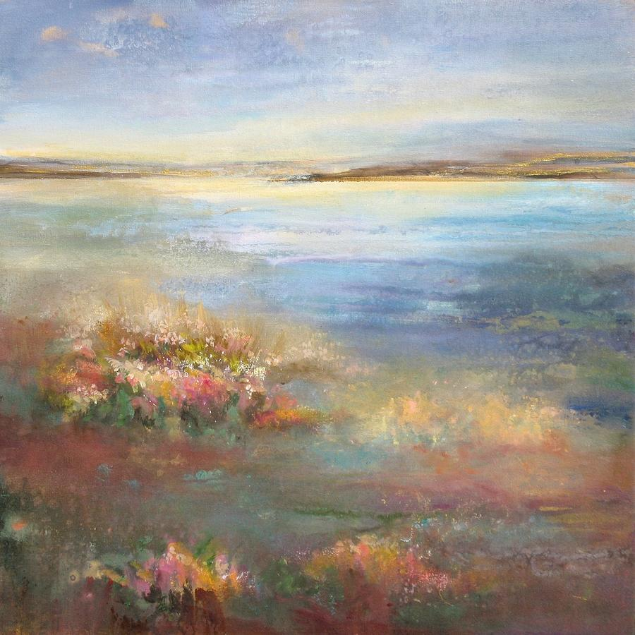 Landscape Painting - Gift Of The Day by Karen Hale
