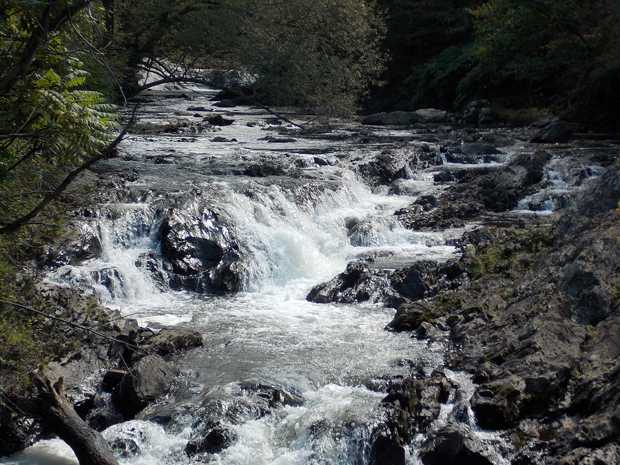 Gihon River Photograph - Gihon River in Vermont by Catherine Gagne