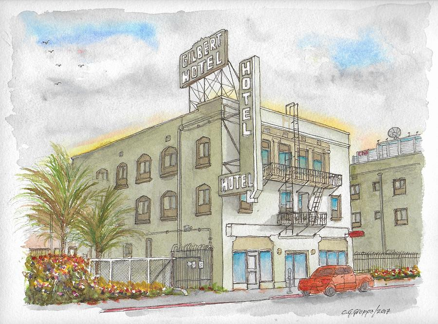 Gilbert Hotel in Hollywood, California by Carlos G Groppa