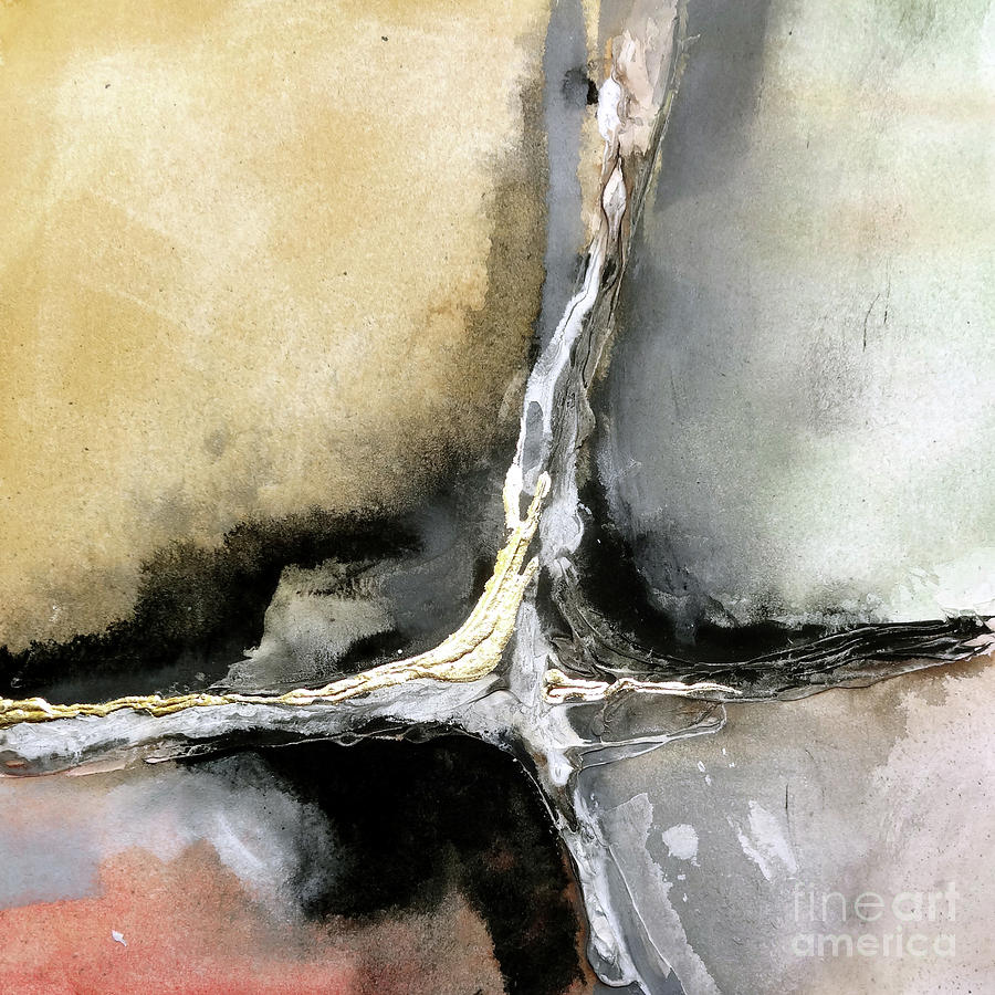 Gilded Crevice 2 by Chris Paschke
