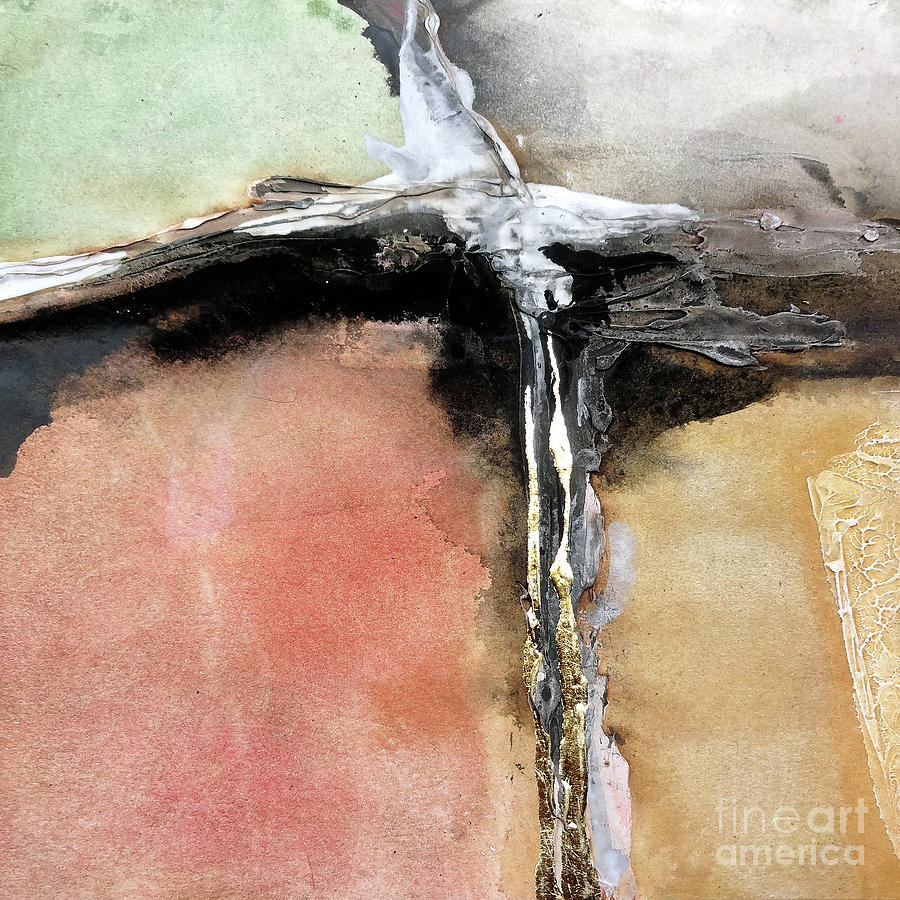 Gilded Crevice 8 by Chris Paschke