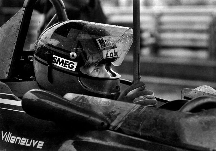 Gilles Villeneuve Photograph - Gilles Villeneuve 1950-1982 by Mike Flynn