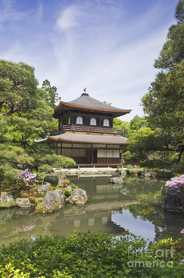 Architecture Photograph - Ginkakuji Temple by Rob Tilley