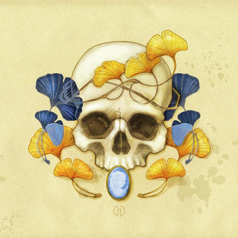 Ginkgo Relic Digital Art by Catherine Noel