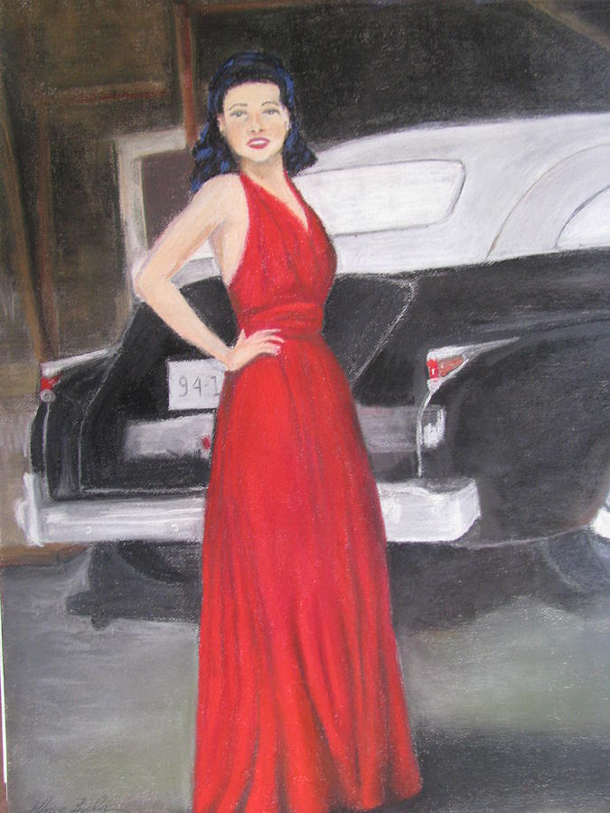 Paintings Painting - Ginny World War II Wives by Gloria Byler