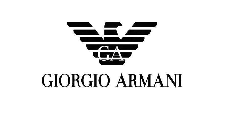 Giorgio Armani Eagle Logo Digital Art By Traxex Gringer