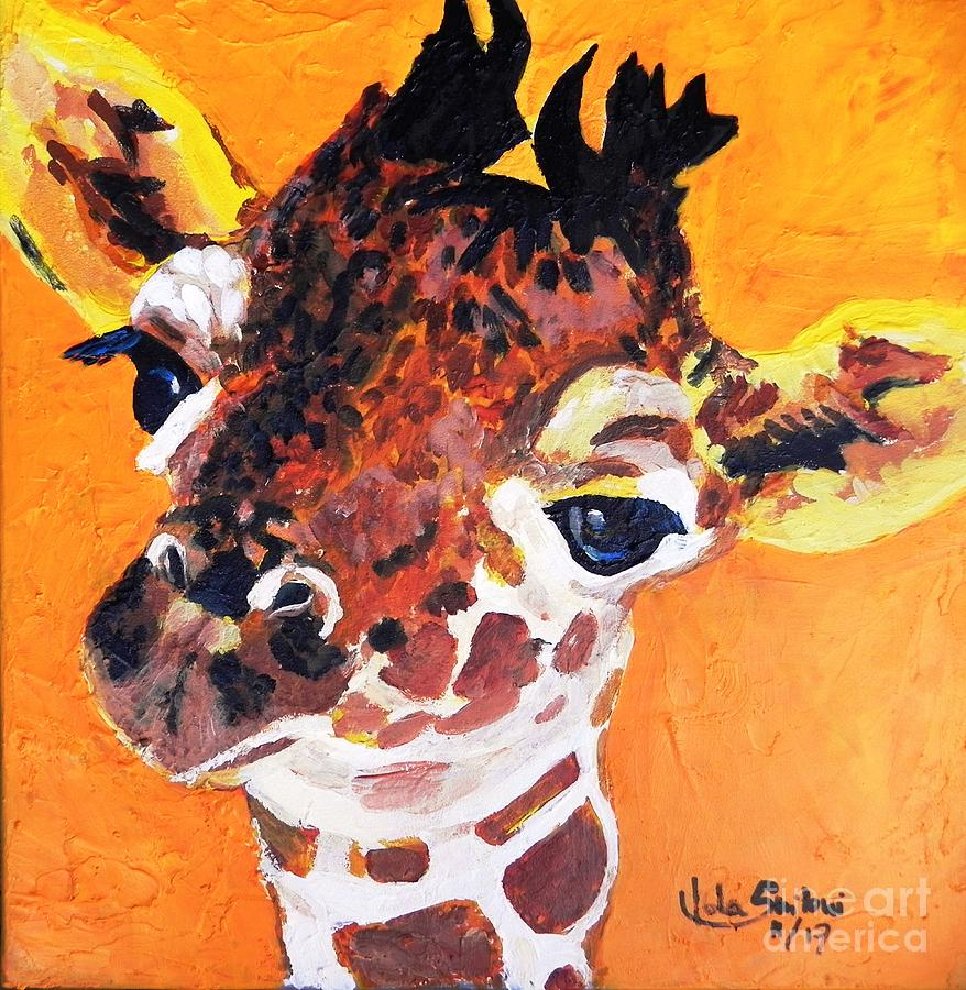 Giraffe by Jolanta Shiloni