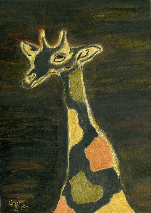 Giraffe Metallica by Stephanie Agliano